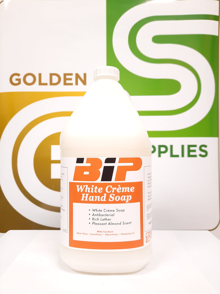 Bip - White Hand Soap 4L x 4 Jugs