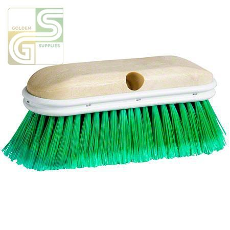 "9"" Car/truck Brush - Plastic Block With Bumper-Golden Supplies Ltd"