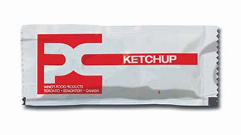 PC - Ketchup Portion Packs (9g) 8ml x 500 Pcs
