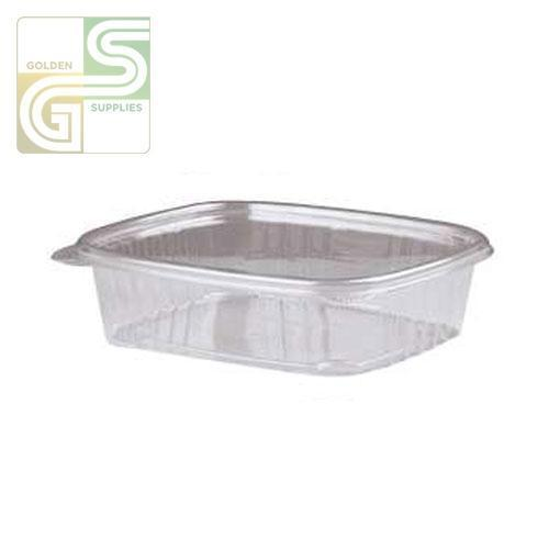 (Ad24) 24oz Hinged Deli Containers (7.25 X 6.38 X 2.25) 100 Pcs-Golden Supplies Ltd