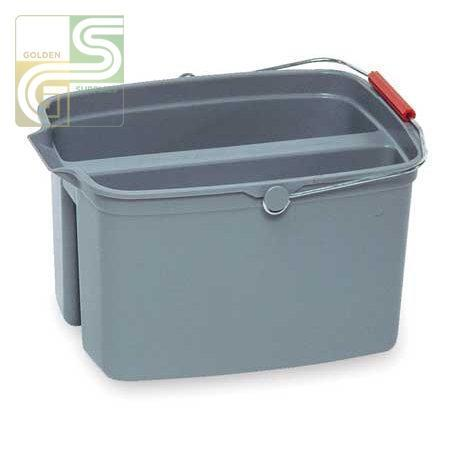 All Purpose Large Caddy 17qt Grey Bucket-Golden Supplies Ltd