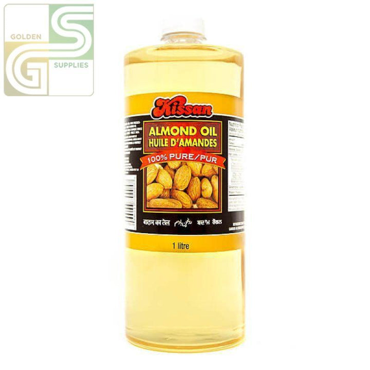 Almond Oil Kissan 1L x 1 Bottle-Golden Supplies Ltd