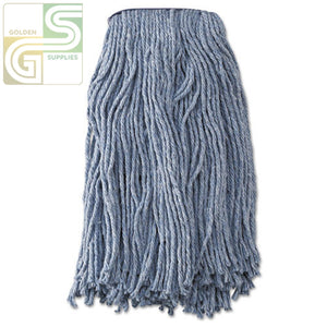 Blue 16oz Cut End Mop Head 1 Mop-Golden Supplies Ltd