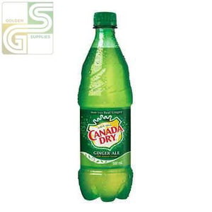Canada Dry / Ginger Ale 500ml x 24 Bottles-Golden Supplies Ltd