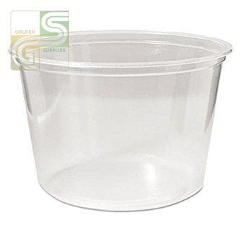 Clear Deli Cont 16oz 50/sl-Golden Supplies Ltd