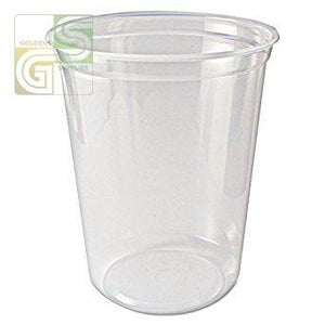 Clear Deli Cont 32oz 500/cs-Golden Supplies Ltd