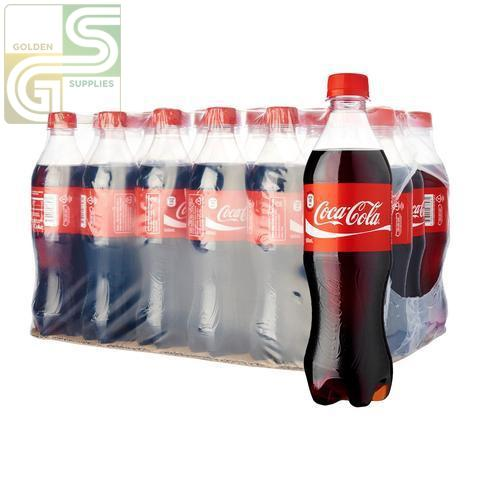 Coke 500ml x 24 Bottles-Golden Supplies Ltd