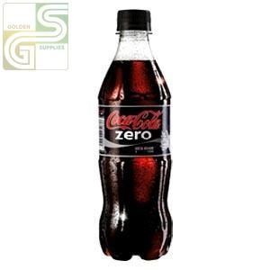 Coke Zero 500ml x 24 Bottles-Golden Supplies Ltd