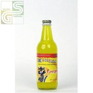 D & G Pineapple 355ml x 24 Bottles-Golden Supplies Ltd