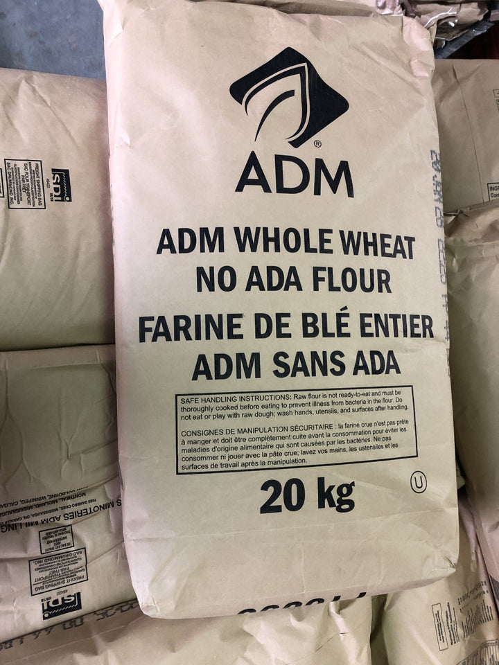 ADM WHOLE WHEAT FLOUR UB NO ADA 20KG