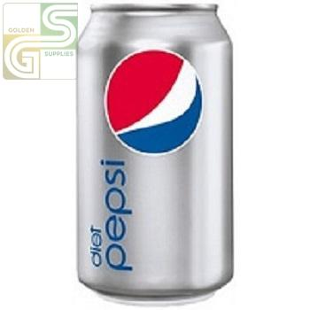 Diet Pepsi 355ml x 24 Cans-Golden Supplies Ltd
