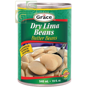 Dry Lima Butter Beans 540ml x 1 Can-Golden Supplies Ltd