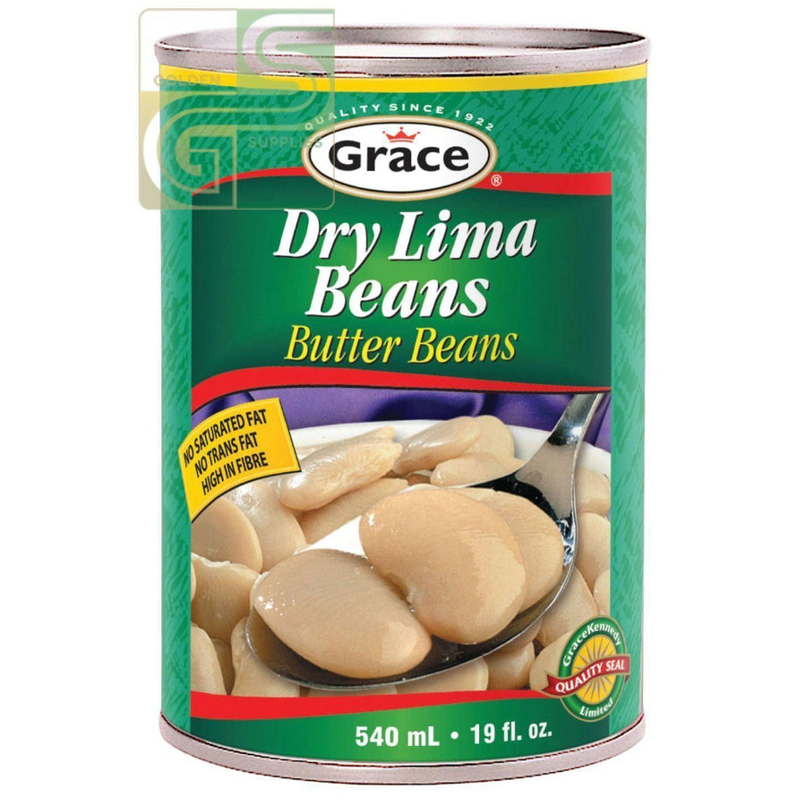 Dry Lima Butter Beans 540ml x 24 Cans-Golden Supplies Ltd