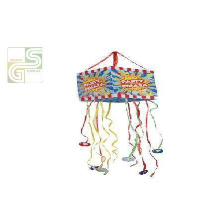 Foldable Party Pull Pinata-Golden Supplies Ltd