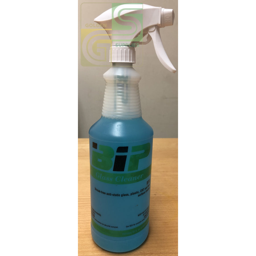 Glass Cleaner Bip 1 Cap & Bottle With Trig-Golden Supplies Ltd