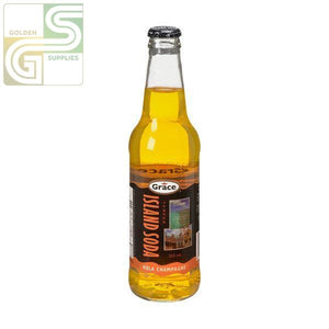 Island Soda Kola Champagne 355ml x 12 Bottles-Golden Supplies Ltd