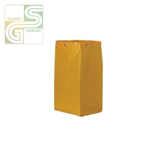 Janitor's Cart Yellow Replacement Bag-Golden Supplies Ltd