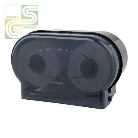 JRT Double Toilet Tissue Dispenser-Golden Supplies Ltd