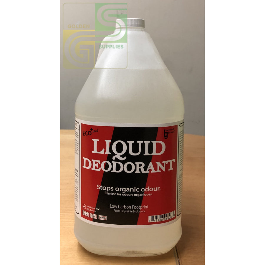 Liquid Deodorant Clear Sprakita 4L x 4 Jugs-Golden Supplies Ltd