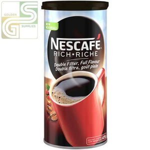 Nescafe Rich Instant Coffe 475g x 1 Can-Golden Supplies Ltd