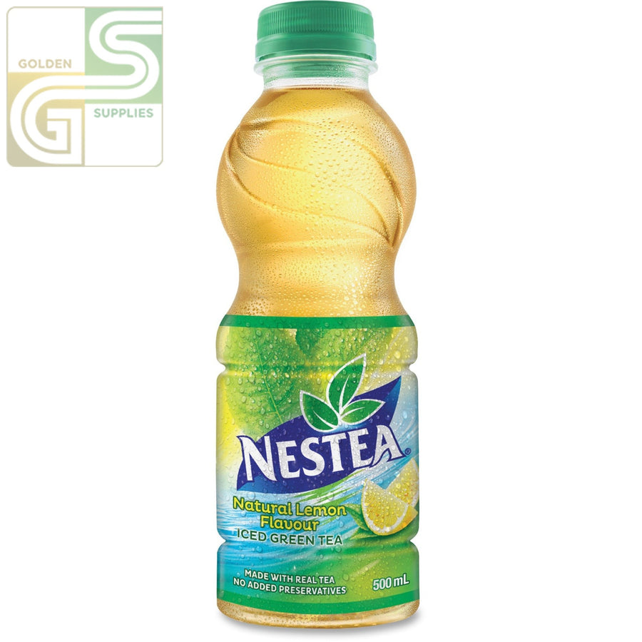 Nestea Green Tea Bottle 500ml x 12 Bottles-Golden Supplies Ltd