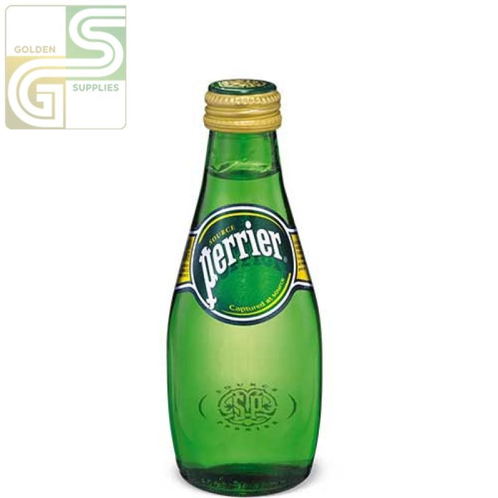 Perrier Water Bottles 330ml x 24 Bottles-Golden Supplies Ltd