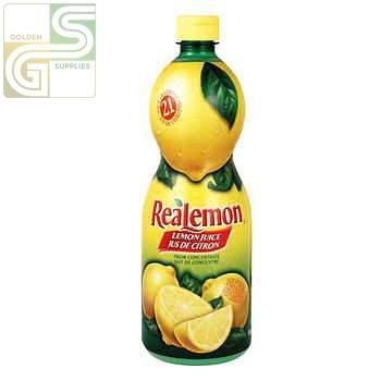 Realemon Juice 945ml x 12 Bottles-Golden Supplies Ltd
