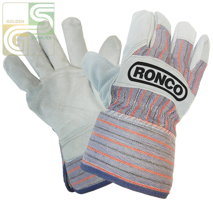 Split Leather Fitters 12 Gloves-Golden Supplies Ltd