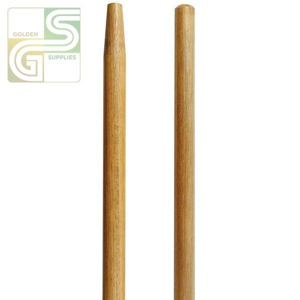 "Tapered Wood Handle 60"" 1 Pcs-Golden Supplies Ltd"