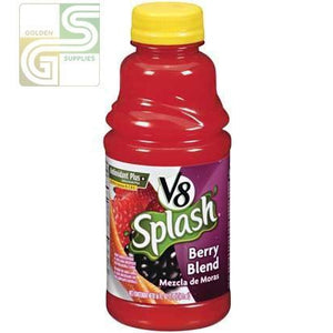V8 Splash Berry Bleand 473ml x 12 Bottles-Golden Supplies Ltd