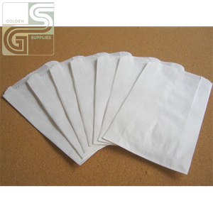White Jumbo Sandwich Patty Bags (6*2*9) 1000 Pcs-Golden Supplies Ltd