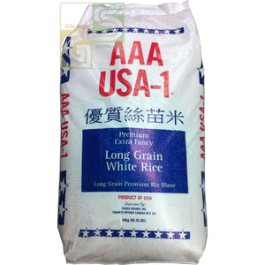 White Long Rice Aaa Usa-1 20 Kg-Golden Supplies Ltd