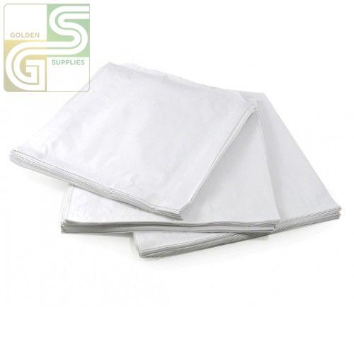 "White Sandwich Patty Bags (6""*.75""*6.75"") 1000 Pcs-Golden Supplies Ltd"