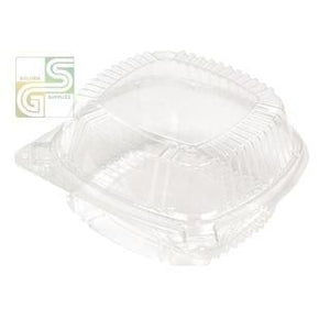 "Yci8-1160 Clear View Containers W/lid (5 3/4"" X 6"" X 3"") 500 Pcs-Golden Supplies Ltd"