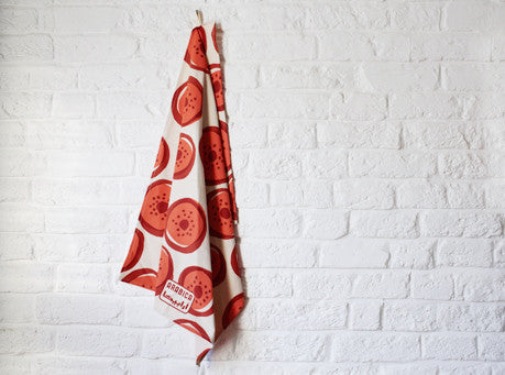 Arabica Strawberry Tea Towel