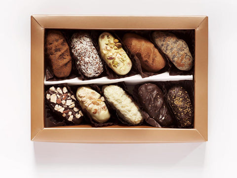 10 pc Double dipped Chocolate Date Selection