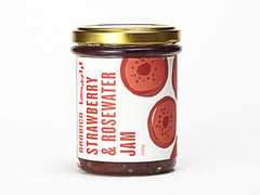 Strawberry & Rosewater Jam
