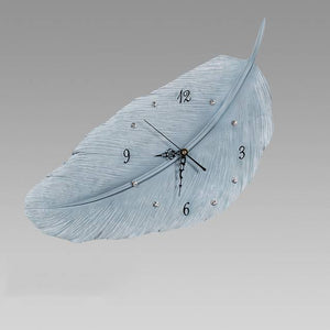 Creative Feather Clock