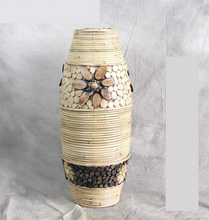 Load image into Gallery viewer, Pastoral Bamboo  Vase