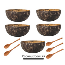 Load image into Gallery viewer, Natural Coconut Bowl