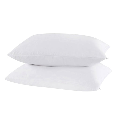 2 Pcs  Waterproof Pillow Protector