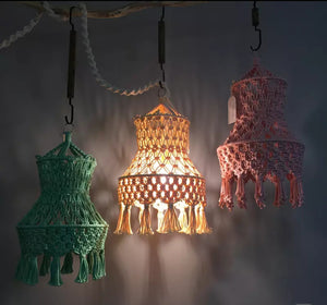 Macrame Lamp Shade