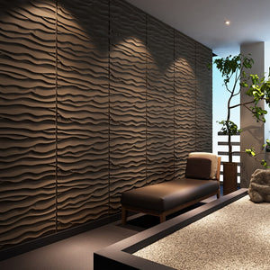 3D Sand Wave Wall Panels