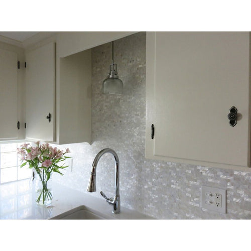 Mother of Pearl White Shell Wall Tile