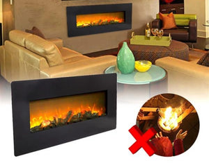 3D Electric Wall Mounted Fireplace