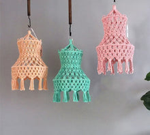 Load image into Gallery viewer, Macrame Lamp Shade
