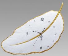 Load image into Gallery viewer, Creative Feather Clock