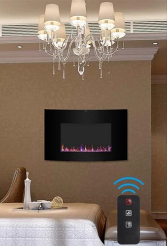 35inch Electric Wall Mount Fireplace