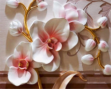 Load image into Gallery viewer, 3D Wallpaper Fashion Floral