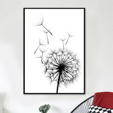 Load image into Gallery viewer, Dandelion Flower Canvas Painting